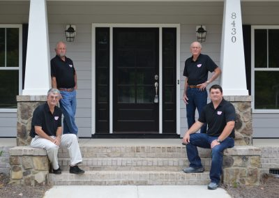 Two Father & Son Contractor Teams